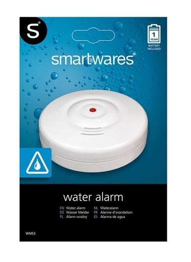 Smartwares Su Kaçağı - Baskını Tespit Dedektörü Renkli